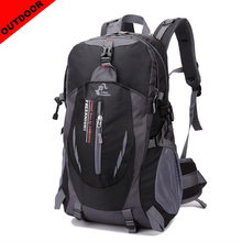 Outdoor Men Sport Backpack 40L Nylon Waterproof Unisex Travel Male Women Hiking Camping Laptop Bags