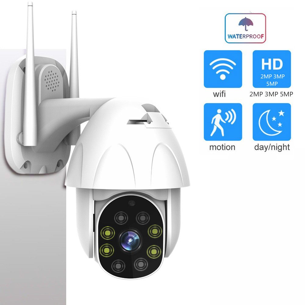 1080 p 3mp 5mp câmera ip sem fio ptz velocidade dome cctv câmeras de segurança 4x zoom ao ar livre onvif áudio em dois sentidos p2p câmera wifi camhi