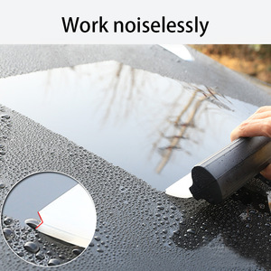 Image 3 - Limpiador de jabón de silicona multifunción, cuchilla para rascar, limpiador escurridor de vidrio, cepillo de ventana, accesorios de limpieza en forma de T