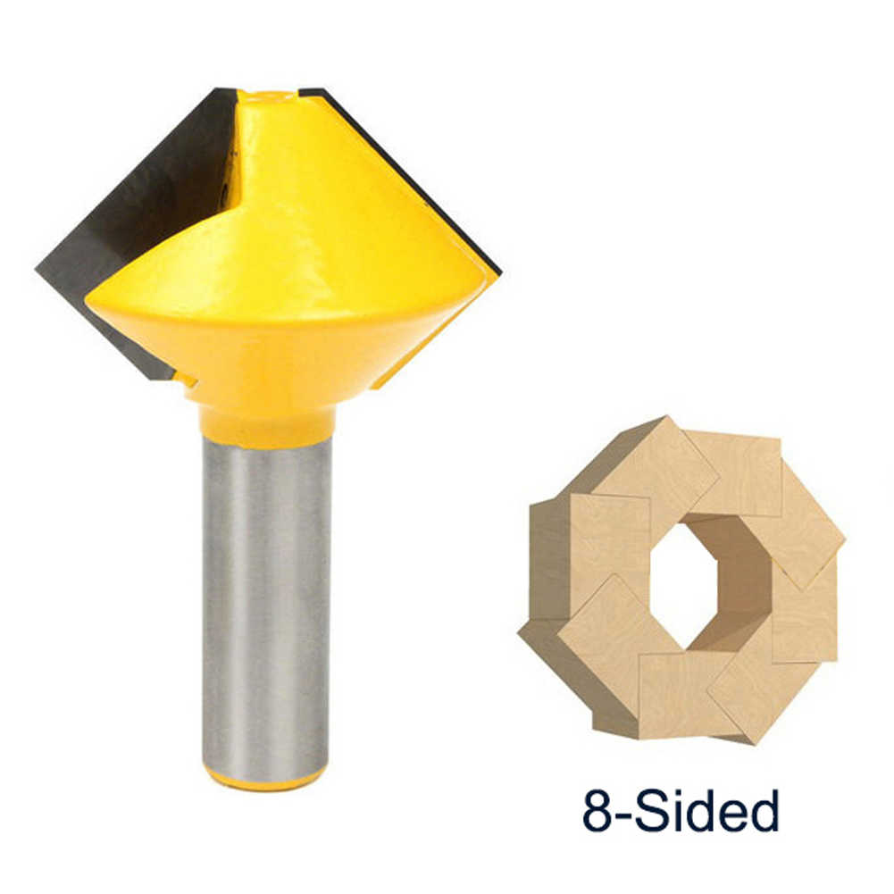 1//2 Inch Shank Bird/'s Mouth Router Bit Woodworking Milling Cutter Tools