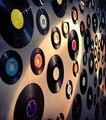 10,5 см/17,5 см/25 см/30 см виниловые пластинки в ретро стиле Декор ностальгические пластинки фотографии реквизит бар кафе настенное украшение