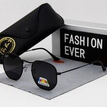 Hexagon Glasses Fashion sunglasses Men Women polarized Mens designer masculine F