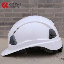 ABS Safety Helmet Construction Climbing Work Protective Helmet Hard Hat Cap Outdoor Breathable Engineering Rescue Helmet