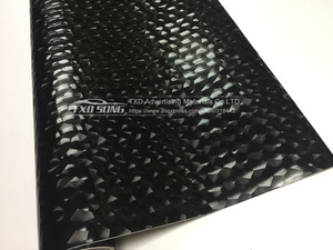 Image 4 - 10/20/30/40/50/60x152CM/LOT Special 3D balck  Vinyl film Water CUBE vinyl sticker with air free bubbles by free shipping