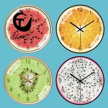[12-Inch 30cm] Cartoon Fruit Best Selling 2018 Products Wall Clocks Hidden Safe Hours Clock reloj de pared