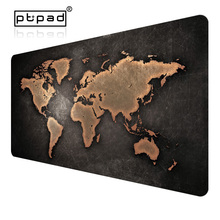 Купить с кэшбэком pbpad store 2017 various size new hot Super World Map office gaming mouse pad Speed Computer Gaming Mouse Pad Table Mat