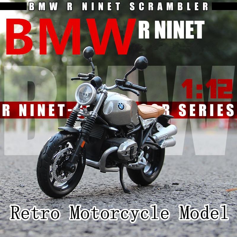 Maisto  1:12 BMW Latte R nineT original authorized simulation alloy motorcycle model toy car Collecting