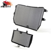 Motorcycle Accessories Radiator Guard Kit Protector Grille Grill Cover for YAMAHA MT-10 MT10 MT 10  FZ-10 FZ10 FZ 10 2016-2017 for yamaha mt10 mt 10 fz 10 2016 2017 motorcycle accessories helmet lock brake master cylinder handlebar clamp black blue red