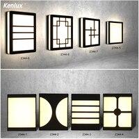 Führte Wand Licht IP65 18/20W Wasserdichte Outdoor Indoor Led Wand Lampe Moderne AC85-265V Veranda Licht Korridor Wand leuchte Lampe