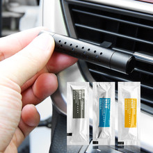 Interior del coche accesorios de aire ambientador Perfume sólido para Peugeot 3008, 206, 208, 408, 2008, 308, 508 para Citroen C4 C5 C6 C2 CACTUS DS4