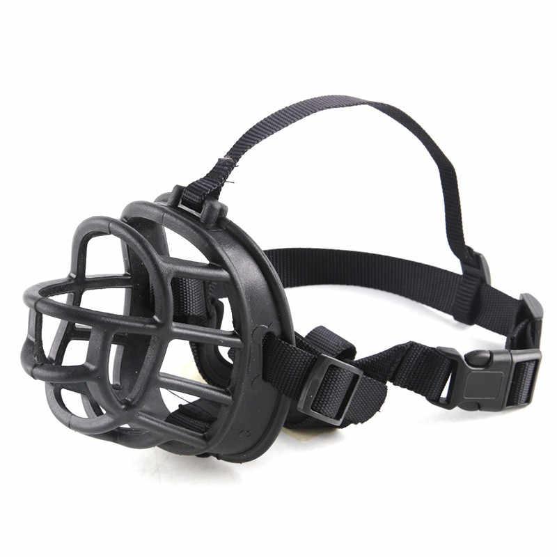 Намордник для собак ПЭТ мягкая лающая силиконовая маска для рта анти намордник против лая, укусов Морда Для Pitbull Sheperd маленькие Pupply Retriever продукты