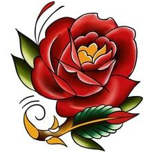Varity, уникальный дизайн, цветы, одноразовые татуировки для тела, батарея, водонепроницаемые Временные татуировки, наклейки, Onetime Tatuajes M-B
