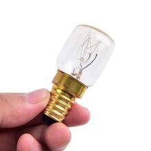 Детали бытовой швейной машины Blubs, светильник для швейной машины 15/25 Вт E15 220 В~ 230 В 300 градусов, лампа для швейной машины