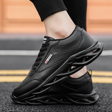 2019 Autumn Vintage Sneakers Men Breathable Leather Casual Shoes Comfortable Fashion Tenis Masculino Adulto