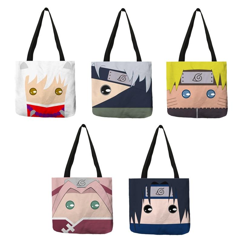 Kreatywny wzór Sac Homme torby dla kobiety 2018 Cartoon kwadratowa tarcza charakter dużego ciężaru torba Eco lniana przenośna torebka podróżna