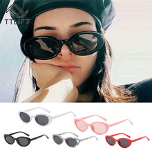 TTLIFE Sexy Ladies Cat Eye Sunglasses Women Vintage Brand Small Round Sun Glasses Female Oval Cute Oculos De Sol