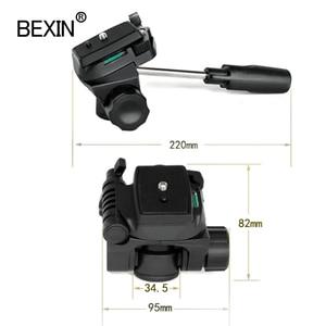 Image 4 - BEXIN כדור ראש אוניברסלי תלת ממדי נוזל כף יד וידאו ירי פנורמי חצובה ראש עבור dslr מצלמה חדרגל חצובה
