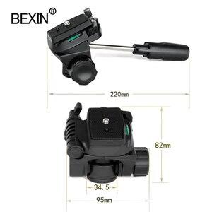 Image 4 - Bexin Ball Head Universele Drie Dimensionale Vloeistof Handheld Video Schieten Panoramische Statiefkop Voor Dslr Camera Monopod Statief
