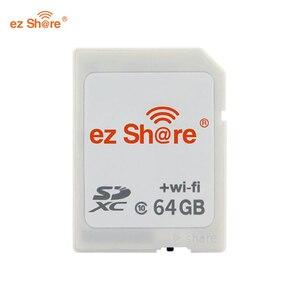 ez share WiFi SD Card Wireless Micro SD Adapter 16GB 32GB 64GB Camera Memory Card Support 16GB 32GB TF Micro sd Card Reader(China)