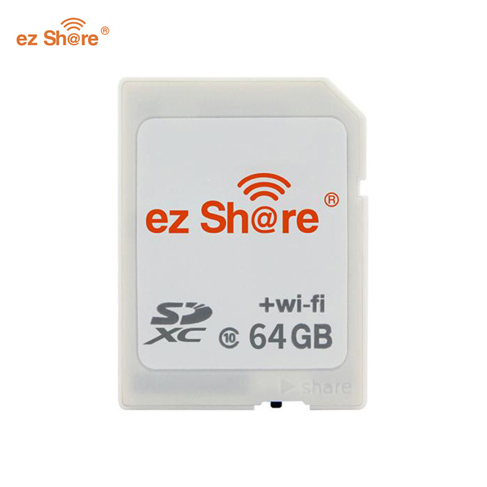 ez share WiFi SD Card Wireless Micro SD Adapter 16GB 32GB 64GB Camera Memory Card Support 16GB 32GB TF Micro sd Card Reader(China)