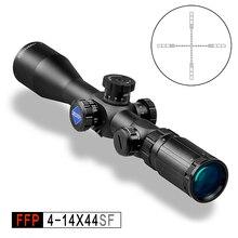 Дискавери FFP 4-14 x44 SF воздушные пистолеты и оружие военный Воздушный прицел охотничий прицел с лучшим прозрачным стеклянным видением