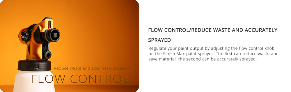 Flow Control of DEKO Spray Gun