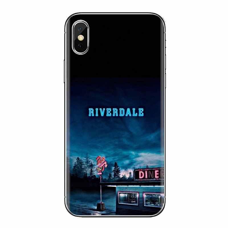 Cubierta de silicona bolsa para Xiaomi mi 6 mi 6 A1 Max mi x 2 5X 6X rojo mi nota 5 5A 4X 4A A4 4 3 Plus Pro programas de televisión estadounidense Riverdale logotipo