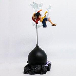 Image 2 - Anime Action Figure Een Stuk Gear Vierde Scultures Grote Aap D Luffy Battle Vechten Speciale Kleur Ver 26Cm Pvc speelgoed Pop