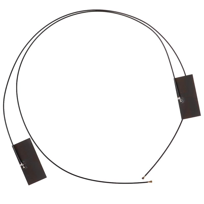 2 Pcs PCI-E Wireless Wifi Mhf4 Laptop Dual Band M.2 Antenna For Ngff Bluetooth
