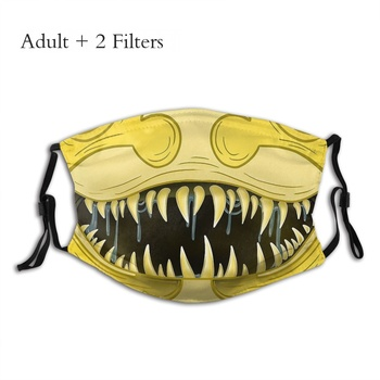 Hungry Timcanpy Mouth Face Mask D Gray Man Allen Walker Anime Series Protection Reusable Washable Mascarilla With Filters image