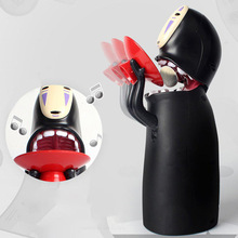 Toys Coin-Bank Money No-Face Automatic Music-Box Man Fun Pig-Toy Ghost-Figure Christmas-Gift