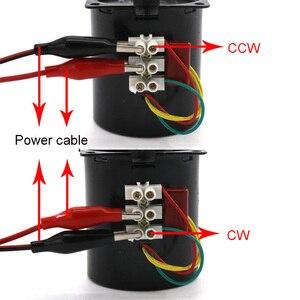 Image 4 - 68KTYZ 28 واط التيار المتناوب 220 فولت المغناطيس الدائم متزامن موتور تروس