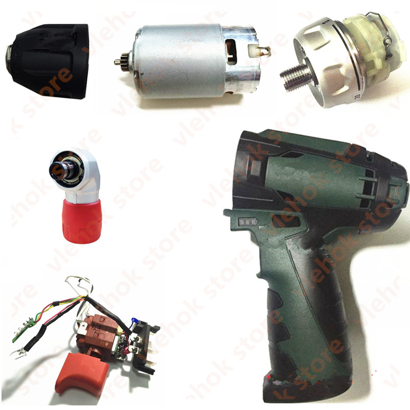Parts 10.8V 12V For Metabo PowerMaxx BS10.8V Switch Reducer Connector Motor CLAMSHELL Shell Case PowerMaxxBS10.8V Quick Power