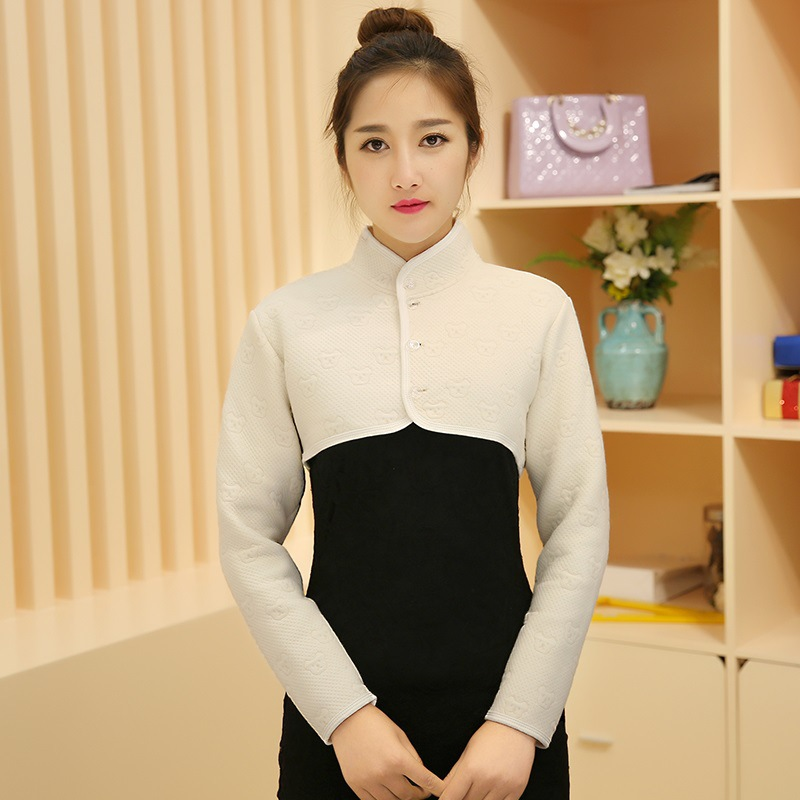 Shoulder Pad Warm Pajama Colored Cotton Spring Summer Women's Middle-aged Protection Shoulder Waistcoat Pajama Care Cervical Nec