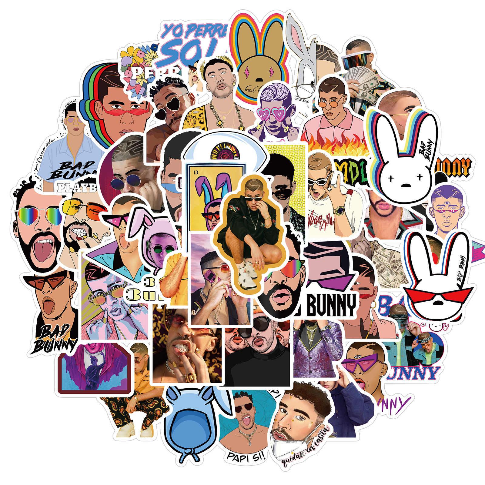 Bad Bunny Stickers 50pcs