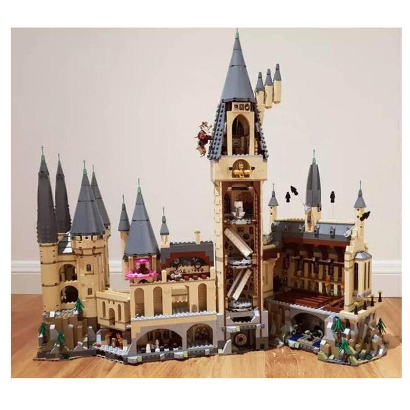 Legoing Harryed Building Block Magic Castle School Compatible Christmas Gift Bricks Pottering 6044PCS