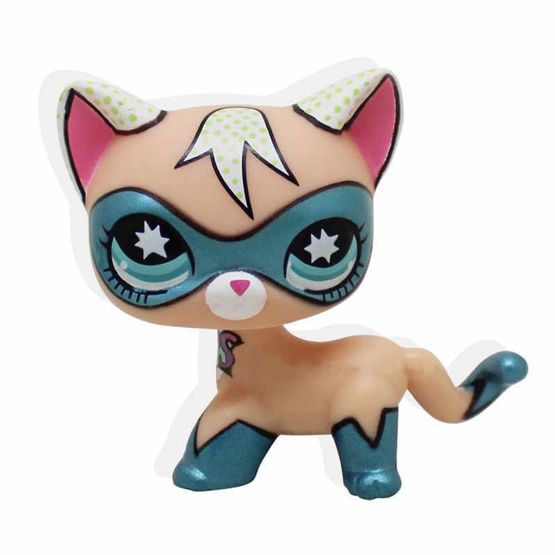 애완 동물 가게 lps 장난감 희귀 서있는 짧은 머리 고양이 #5 #391 작은 개 닥스 훈트 악어 스패니얼 콜리 그레이트 데인 올드 컬렉션