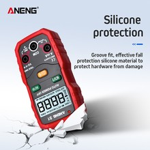 Multifunctional Multimeter S1 Intelligent Automatic Range Digital LCD AC DC Voltage Current Silicone Protection Resistance NCV single phase ac digital display of intelligent current and voltage combination table zyx72 ui sx72 72av