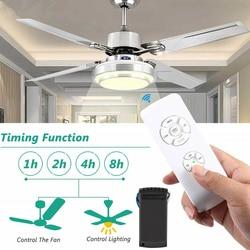 220V светодиодный потолочный вентилятор лампы Беспроводной/синхронизация пульта дистанционного Управление затемнения светильник s для Гост...