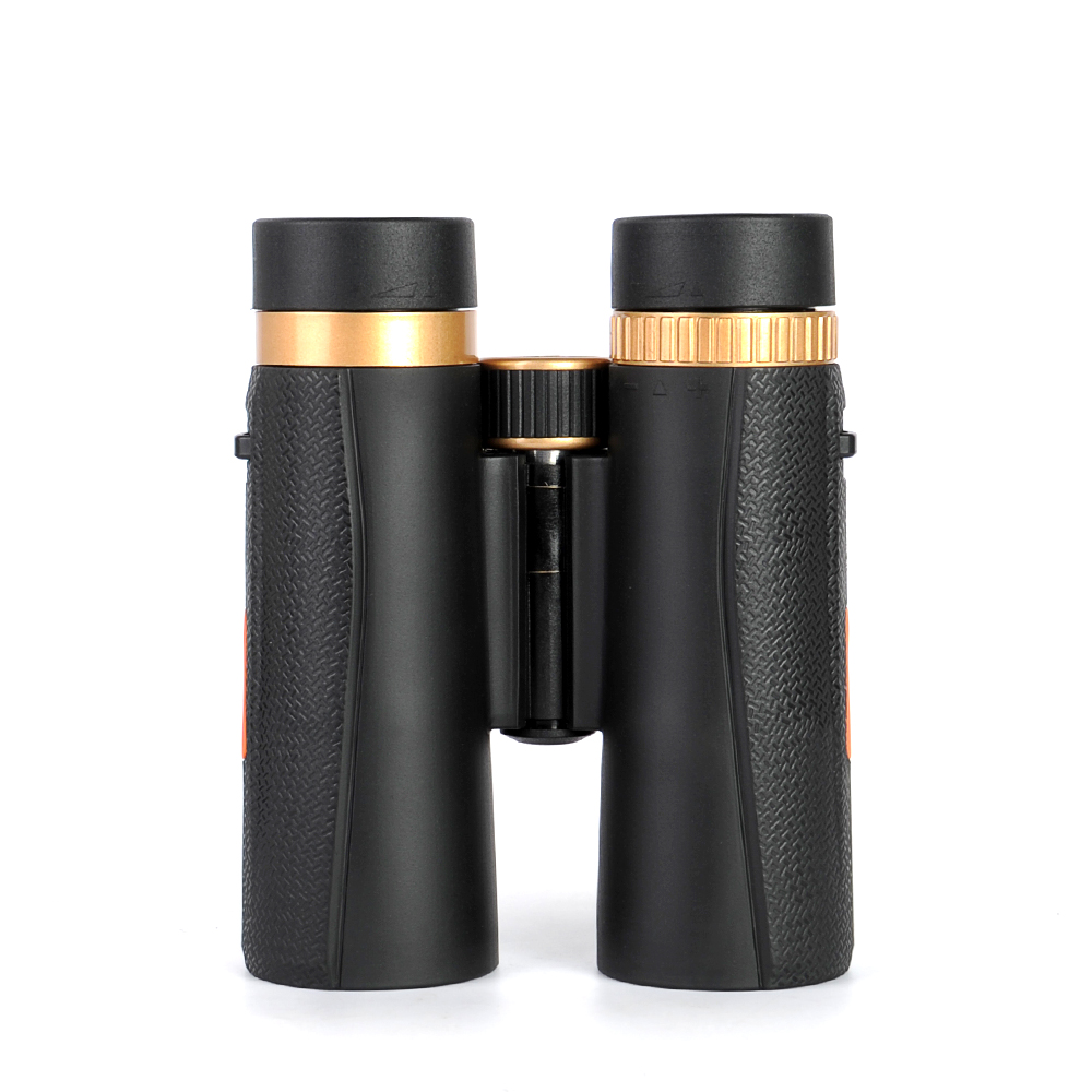 New Arrivals <font><b>10X42</b></font> <font><b>Binoculars</b></font> with Non-slip Side Strips Telescope with BAK4 Prism FMC Lens Durable Waterproof for Travel Hiking image