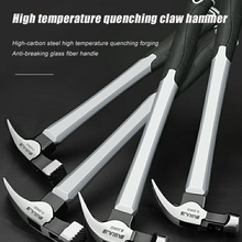 Claw hammer nail hammer tool woodworking percussion tool magnetic automatic nail suction hammer