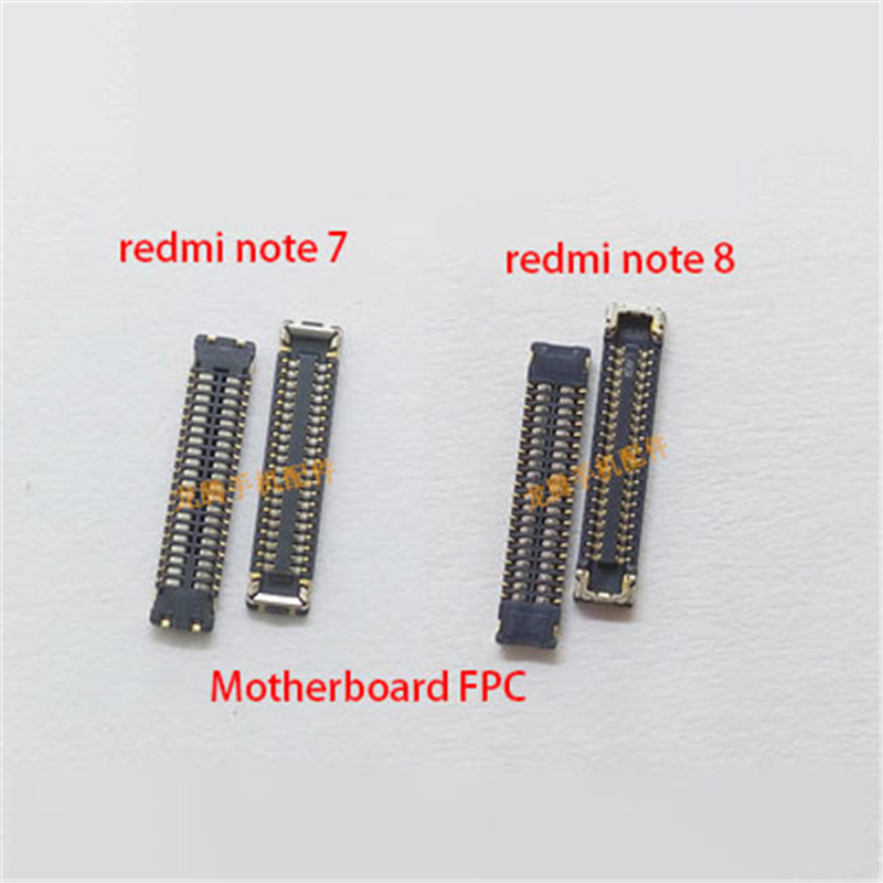 LCD Display FPC Connector Plug MotherBoard Pin For Xiaomi Redmi Note 7 Note 8 Note 8 Pro