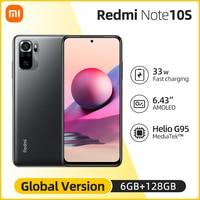 "Global Version Xiaomi Redmi Note 10S Smartphone 6.43"" AMOLED DotDisplay 64MP Quad Camera 5000mAh Helio G95 33W NO NFC 1"