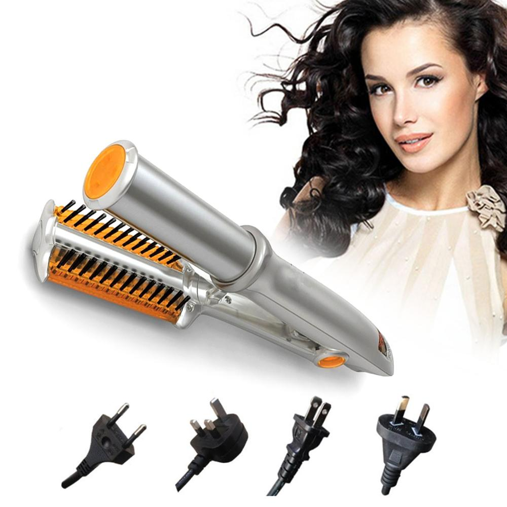New Curl Straight Dual-use Hair Curling Curler Adjustable Temperature Hair Straightener Curling Machine Hair Curler Styling Tool