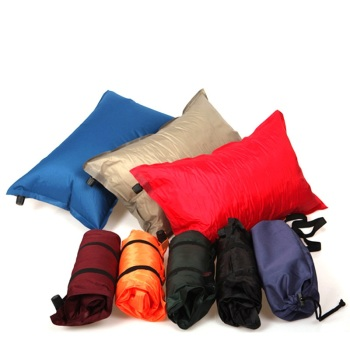2020 Folding Outdoor Camping Automatic Inflatable Pillow Air Inflatable Cushion Picnic  Pillow Foldable Random Color Z30 outdoor camping automatic air mattress portable single pillow mattress automatic inflatable sponge camping mat thickening moistu