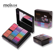 Meis Best Gift Makeup Kit Full Professional Make Up Set Box Cosmetics for Women 56 Color Lady Eyeshadow Palette 8001