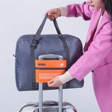 Модная водонепроницаемая сумка для путешествий, большая вместительность, Женская нейлоновая складная сумка, унисекс, мужская сумка для багажа, сумки для путешествий