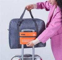Mode Wasserdichte Reisetasche Große Kapazität reise duffle Frauen Nylon Folding Tasche Unisex Männer Gepäck Reise Handtaschen Großhandel