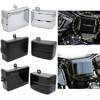 Motorcycle For Harley Fat Bob Dyna Model FXD Low Rider Fat Bob Street Bob UDW Oil Tank Left/Right Side Battery Covers Guard