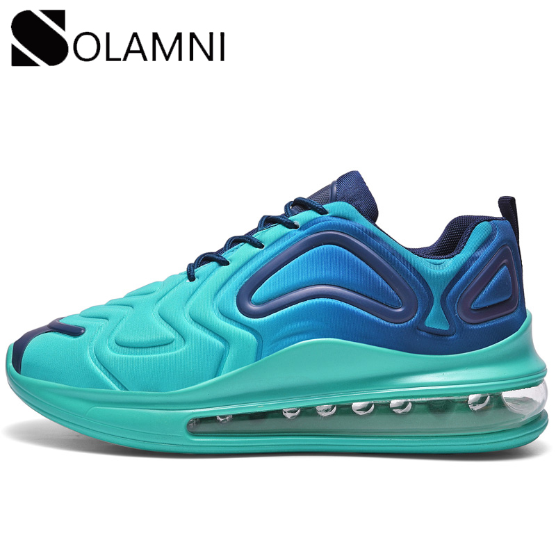 New Brand Men Sneakers Breathable Air Cushion Running Male Platform Shoes Unisex Max Size Comfortable Trainers Mens Casual Shoes